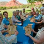 Participants enjoying Bingo!